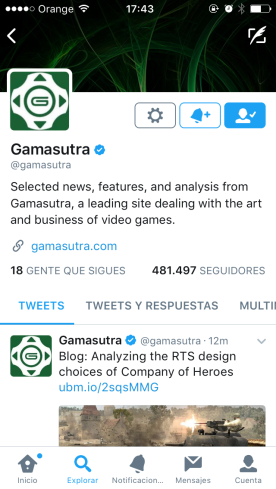 gamasutra, cuadro de diálogo, twitter, twitter for business, twitter para los negocios, mensajes privados, DM, cuentas, twitter accounts